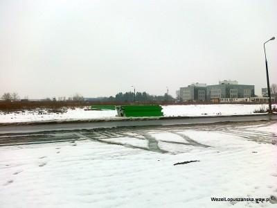 2012.02.22 - Węzeł Łopuszańska Warszawa - panele od ekranów akustycznych