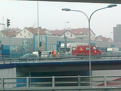 2012.03.01 - Węzeł Łopuszańska Warszawa - sygnalizacja świetlna zmiany