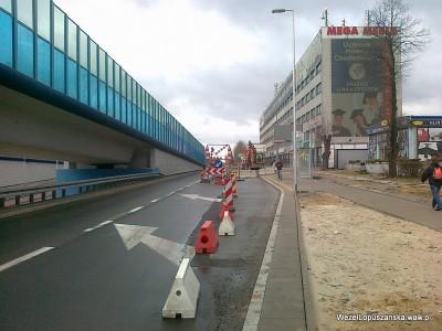 2012.04.02 - Węzeł Łopuszańska Warszawa - aleje Jerozolimskie w stronę Pruszkowa