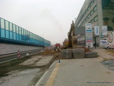 2012.04.05 - Węzeł Łopuszańska Warszawa - aleje Jerozolimskie w stronę Pruszkowa