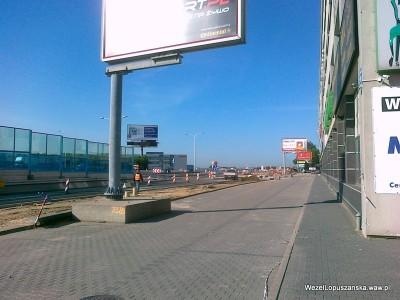 2012.05.18 - Węzeł Łopuszańska Warszawa - aleje Jerozolimskie w stronę Pruszkowa