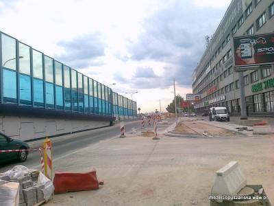 2012.05.29 - Węzeł Łopuszańska Warszawa - widok w stronę Pruszkowa