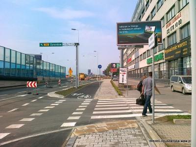 2012.06.21 - Węzeł Łopuszańska Warszawa - widok w stronę Pruszkowa